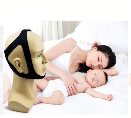 horkolásgátló állpánt - fekete